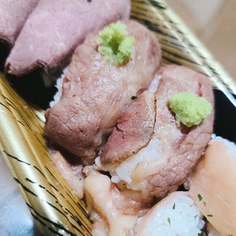 「寿司とYシャツとお肉 あるて」のお持ち帰りメニューをテイクアウトして食べますた!