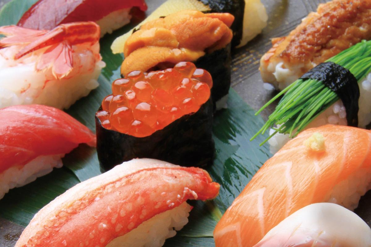 谷ふじのお寿司